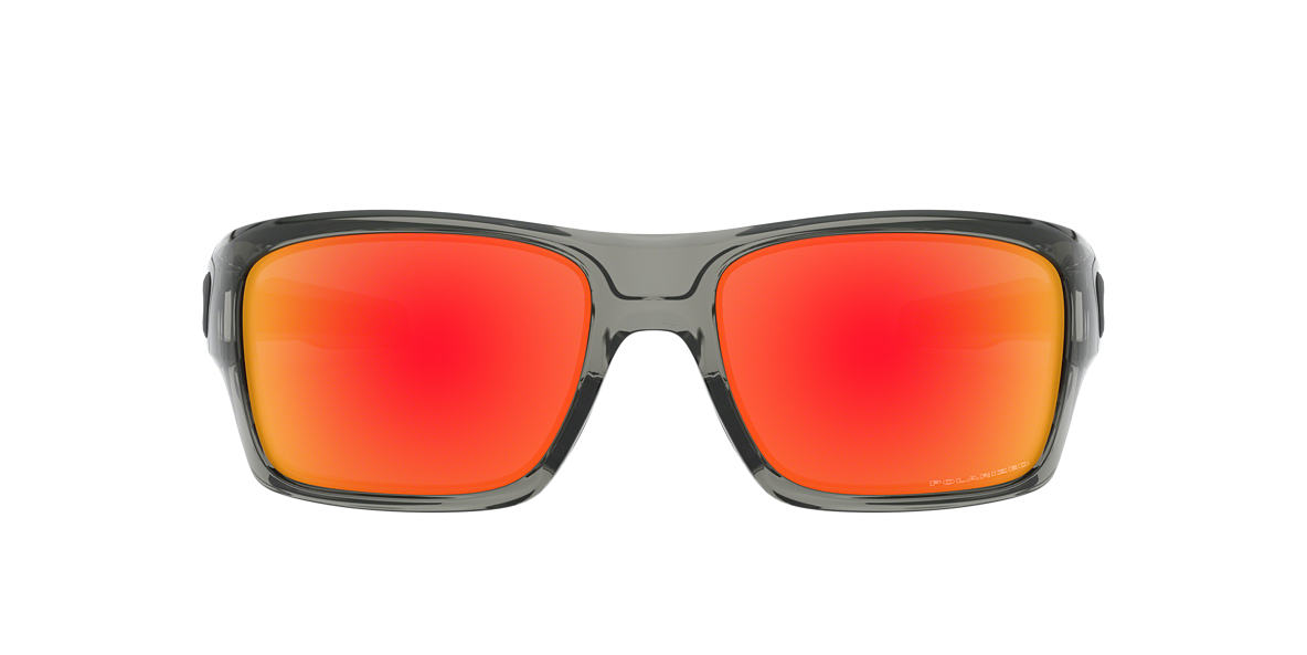 d6e9e441be Oakley OO9263 TURBINE 65 Red   Grey Polarized Sunglasses