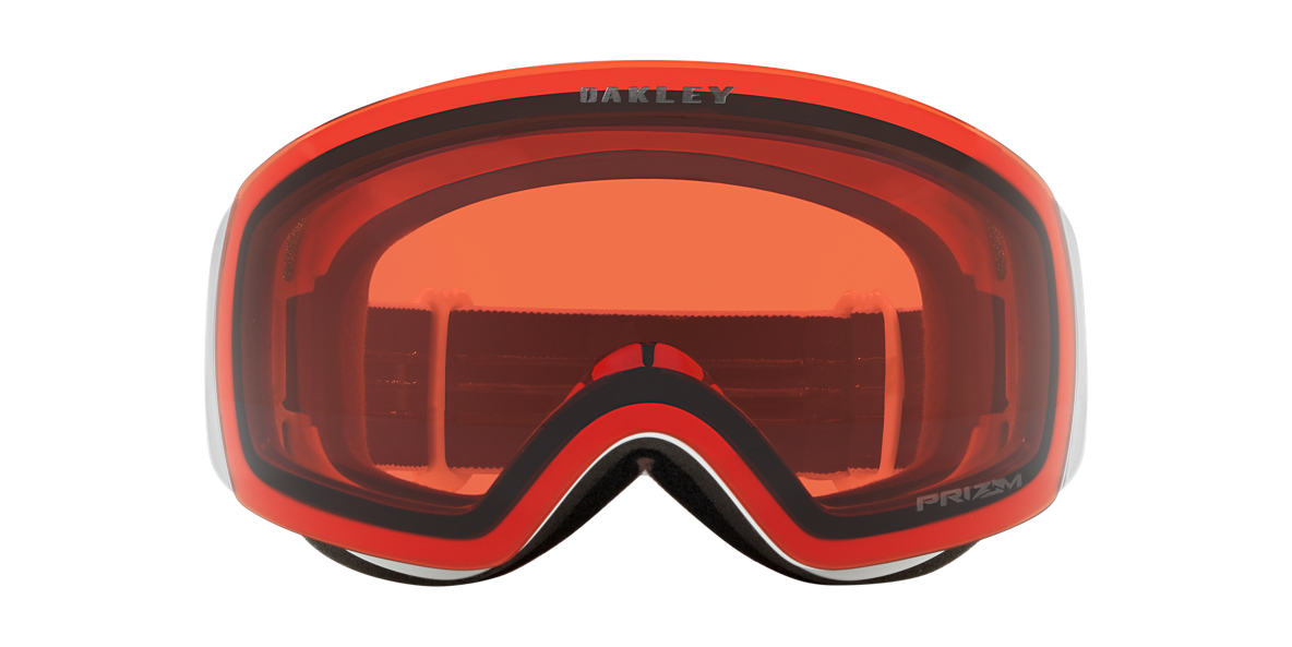 White OO7064 Flight Deck™ XM Snow Goggle Red