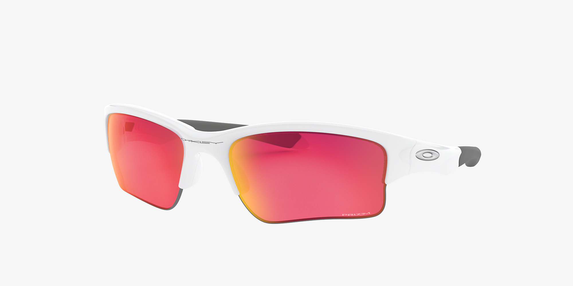 Oakley OO9200 Quarter Jacket® (Youth Fit) White/Red image 1