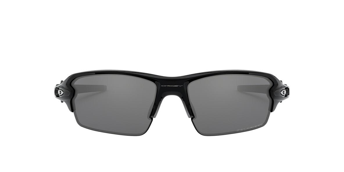 84e413bf1b Oakley OO9295 FLAK 2.0 59 Grey-Black   Black Polarized Sunglasses ...
