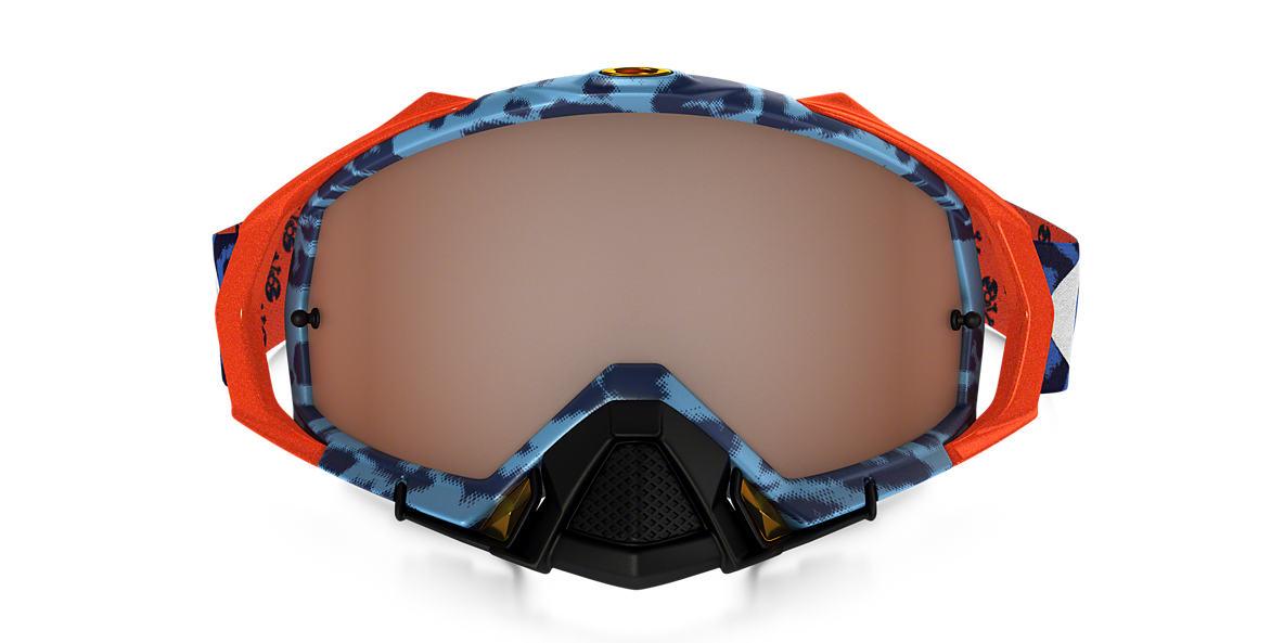 Blue OO7051 Mayhem™ Pro MX Goggle Orange