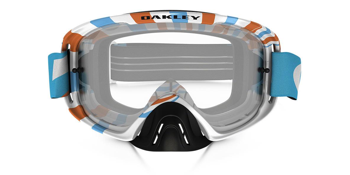 White OO7068 O-Frame® 2.0 MX Goggle Transparent