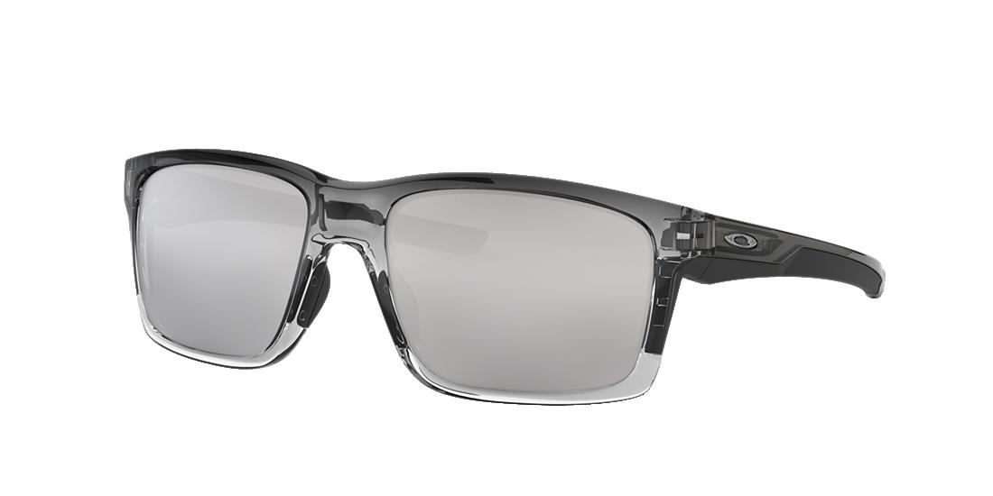 06aa6cabada Oakley OO9264 MAINLINK 57 Silver   Grey Sunglasses