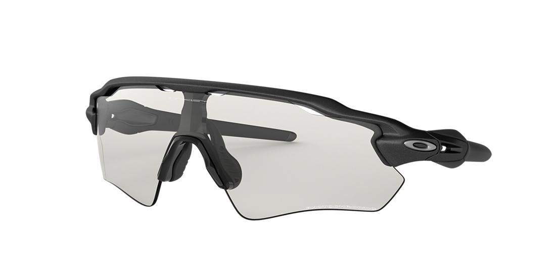 Oakley Radar Ev Path 166mm Shield Wrap Sunglasses In Matte Black
