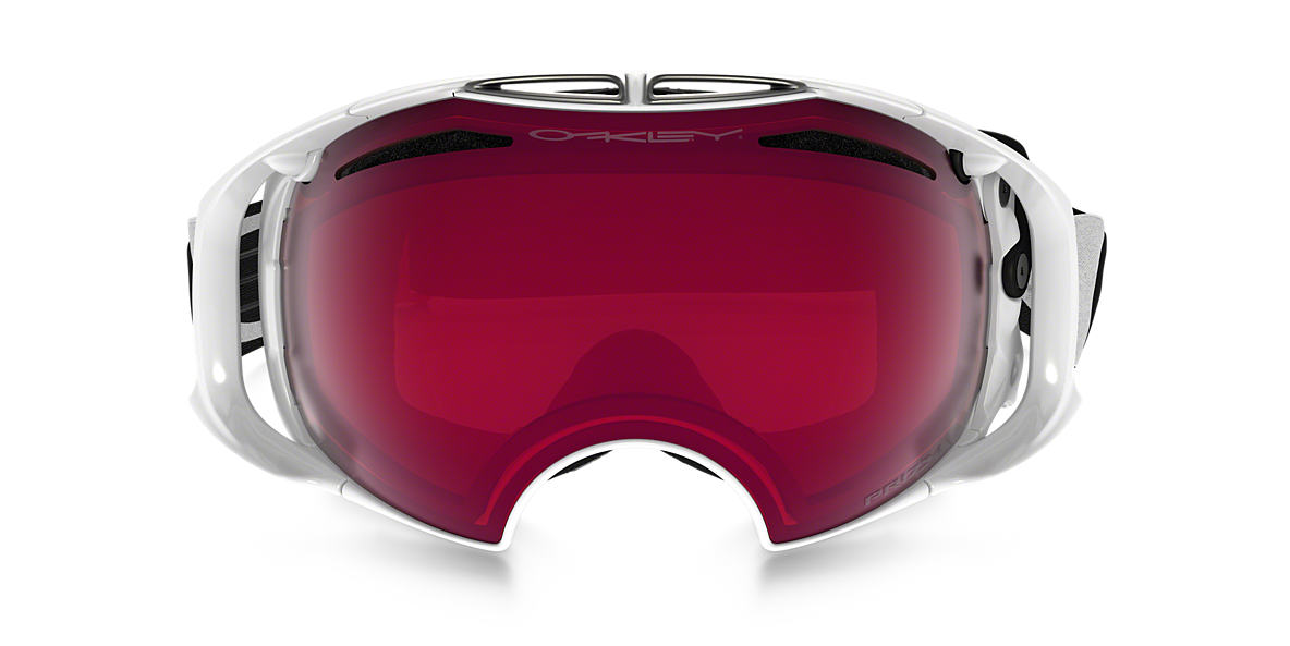 White OO7037 Airbrake® Snow Goggle Red