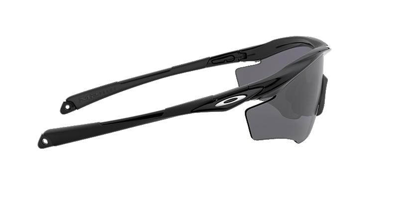 46f7d03a8d46c Oakley OO9343 M2 XL 01 Grey-Black   Black Sunglasses