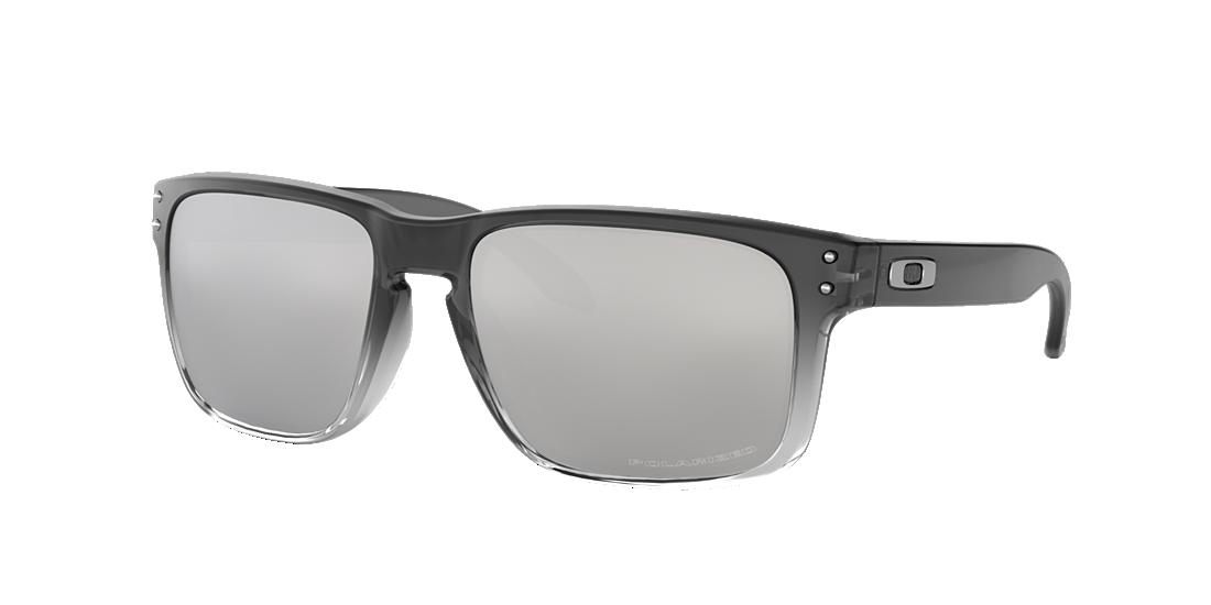 e7555e17b4 Oakley OO9102 57 Silver   Grey Polarized Sunglasses