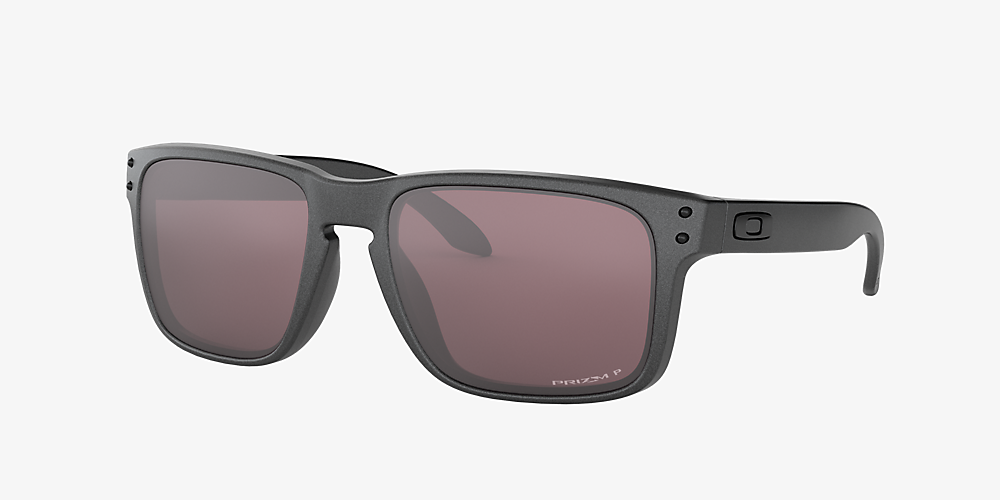 1f644ed72a Oakley OO9102 Holbrook™ Steel Collection Gris/Argent /Verre polarisé image  ...