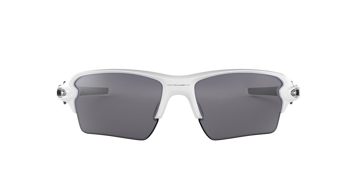 White OO9188 Flak™ 2.0 XL Grey-Black  59