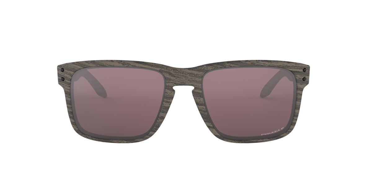 008b8ab7ca8 Oakley OO9102 57 Silver   Brown Polarized Sunglasses