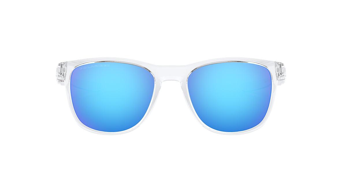 f30b2f03a1 Oakley OO9340 52 Blue   Transparent Polarised Sunglasses