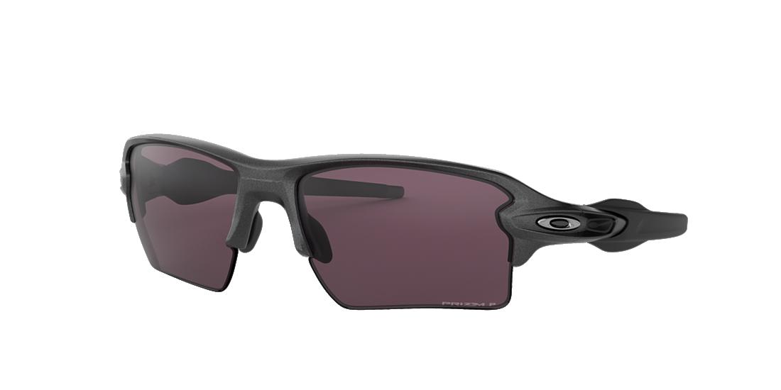 a4c8919ce53 Oakley OO9188 59 Silver   Grey Polarised Sunglasses