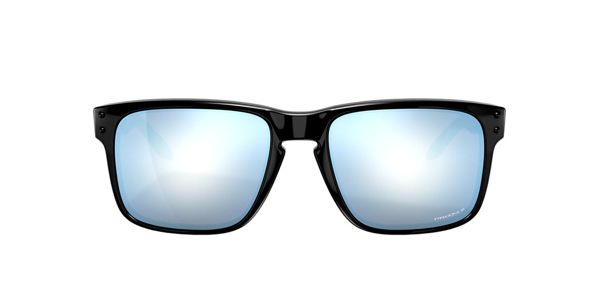 ce752c1357c Oakley OO9102 57 Blue   Black Polarized Sunglasses