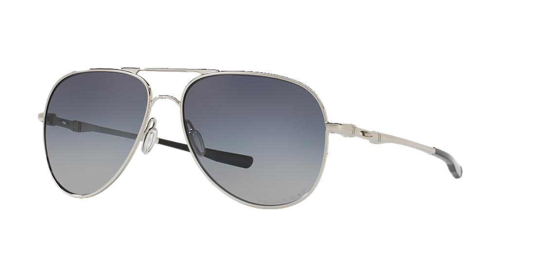 ae8be57dd7 Oakley OO4119 58 Grey-Black   Silver Polarised Sunglasses