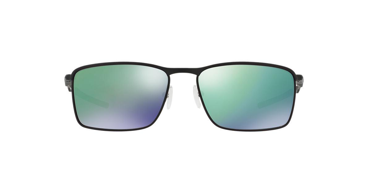 ac5d06ad1ef Oakley OO4106 58 Silver   Black Sunglasses