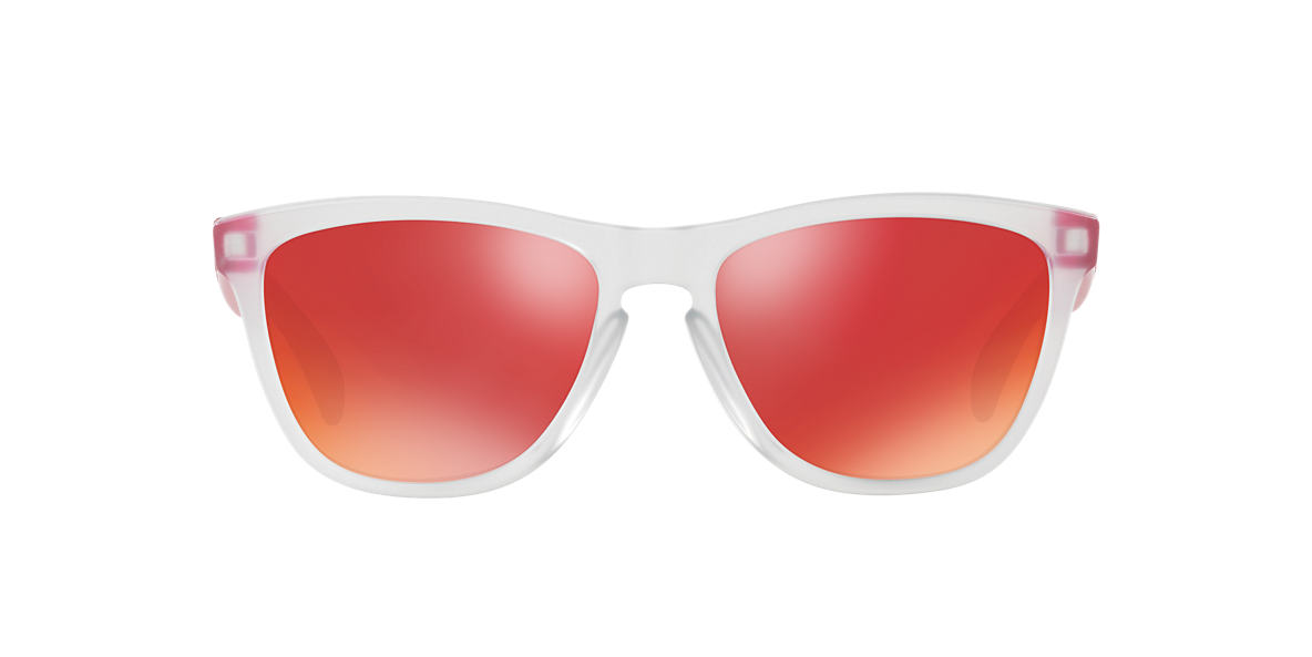 Transparent OO9013 Frogskins™ Colorblock Collection Red  55