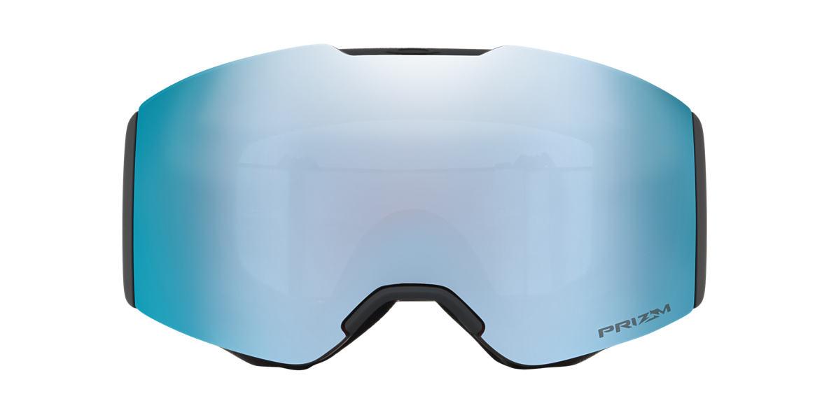 Matte Black OO7085 Fall Line Snow Goggle Blue  00