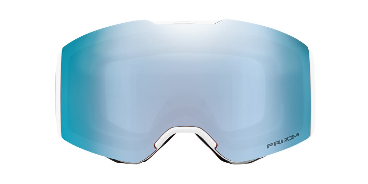 White OO7085 Fall Line Factory Pilot Whiteout Snow Goggle Blue  00