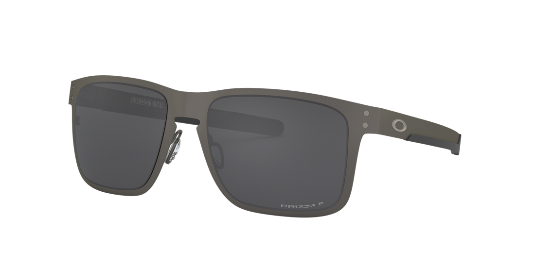 e936947b52 Oakley OO4123 55 Grey-Black   Silver Polarised Sunglasses