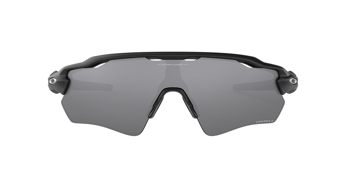 Matte Black OO9208 Radar EV PRIZM™  Black Polarized Grey-Black  01