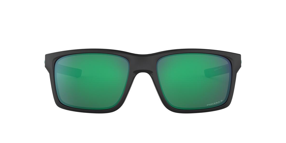 e5ffe908b0 Oakley OO9264 57 MAINLINK PRIZM JADE 57 Green   Black Polarized ...