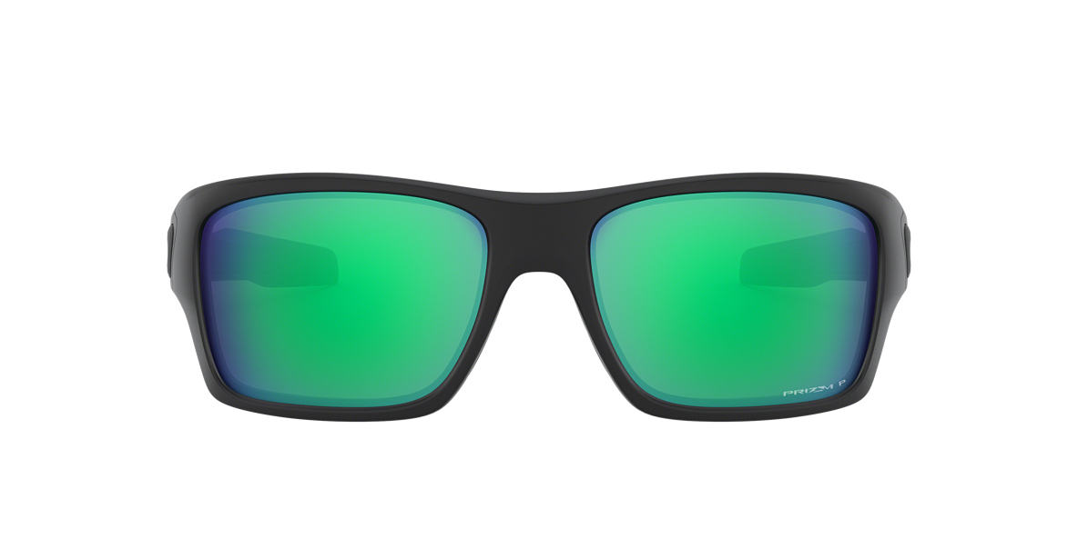 0e3bd575aeab1 Oakley OO9263 TURBINE PRIZM JADE 65 Green   Black Polarized ...