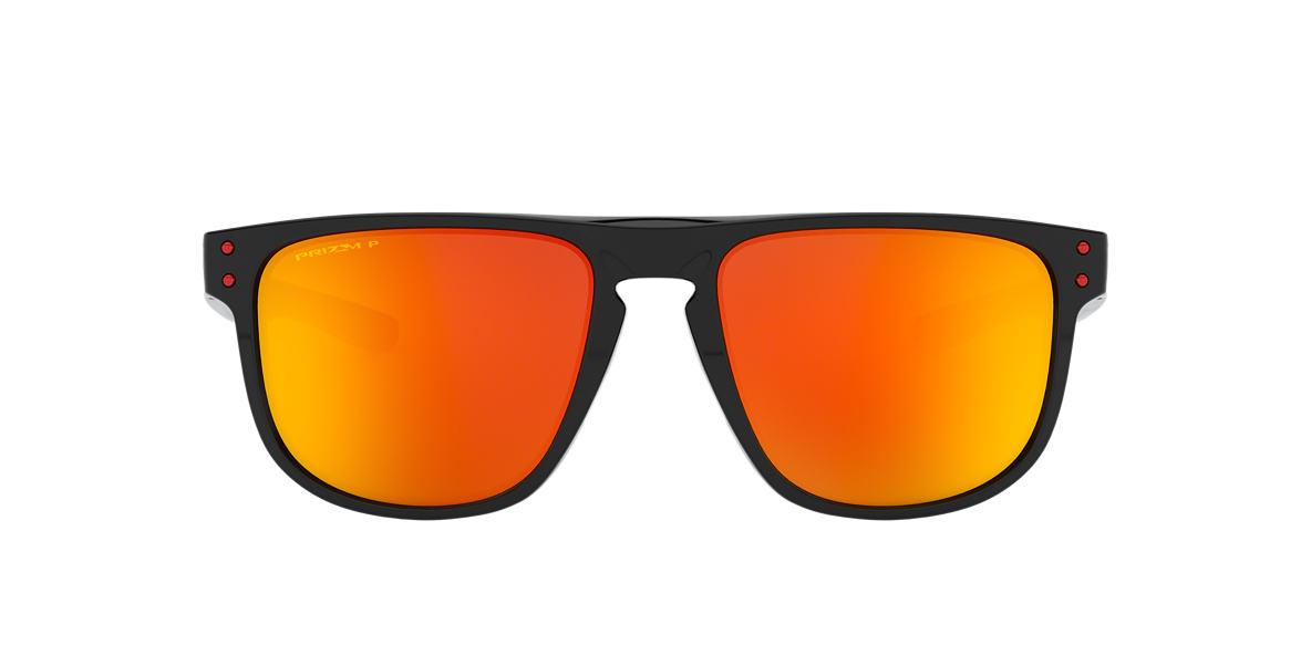 Oakley OO9377 55 Rouge   Noir Verre polarisé Lunettes de soleil ... 7527dd380b0c
