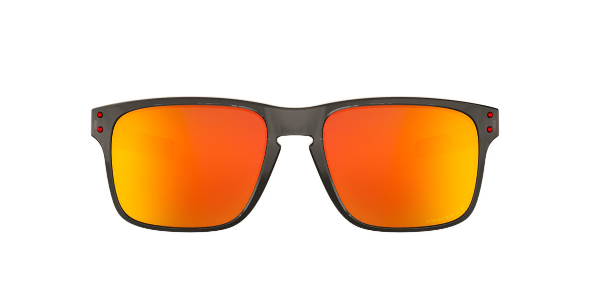 09930218b9a5 Oakley OO9384 57 Red   Grey Polarized Sunglasses