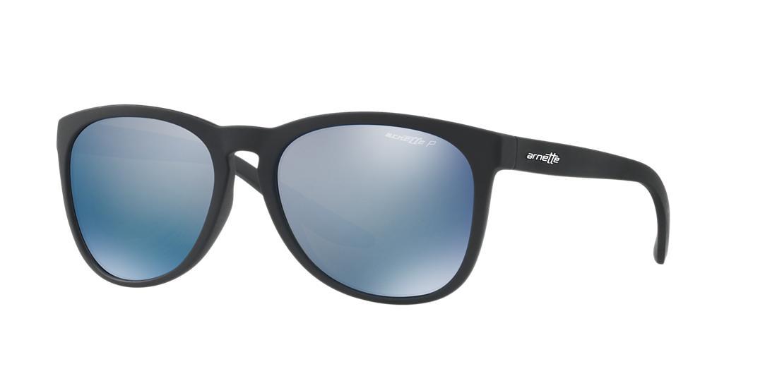 Image of Arnette An4227 Black Round Sunglasses 888392322340