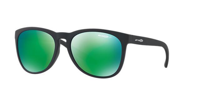 Image of Arnette An4227 Black Round Sunglasses 888392322357