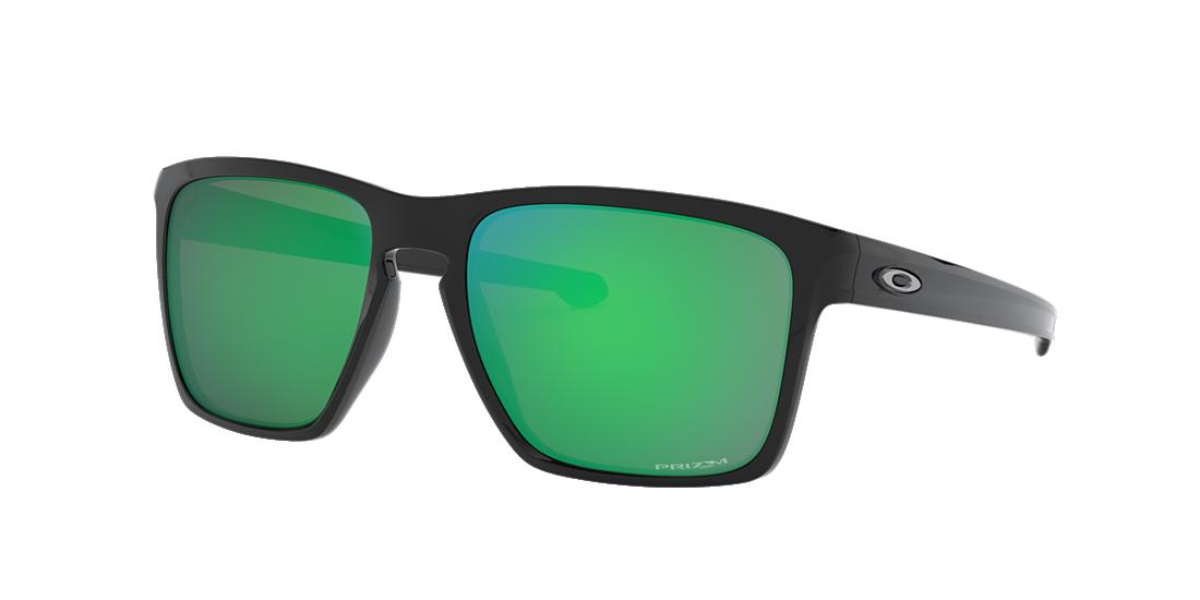 8c41a3b727 Oakley OO9341 57 Green   Black Sunglasses