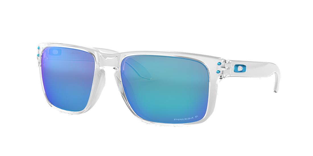 9df4324a88 Oakley OO9417 59 Blue   Transparent Polarized Sunglasses