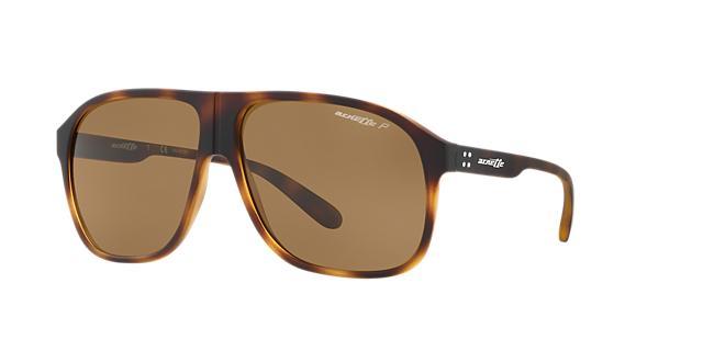 Image of Arnette An4243 Tortoise Square Sunglasses 888392337931