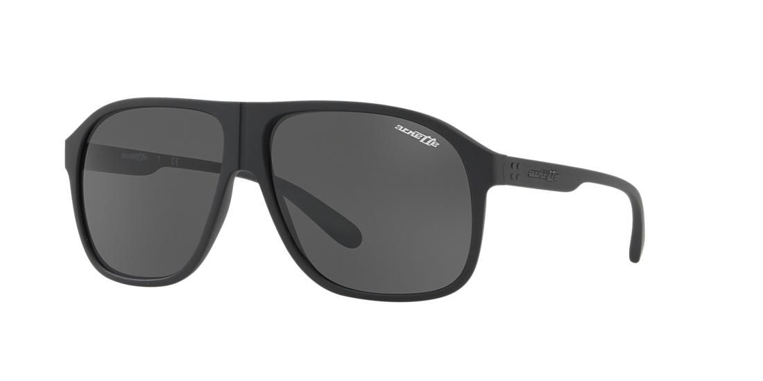 Image of Arnette An4243 Black Square Sunglasses 888392337948