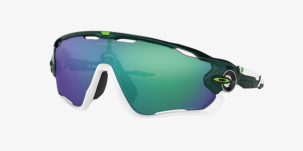 fecfae873408 Oakley OO9290 JAWBREAKER 01 Green & Green Sunglasses | Sunglass Hut ...