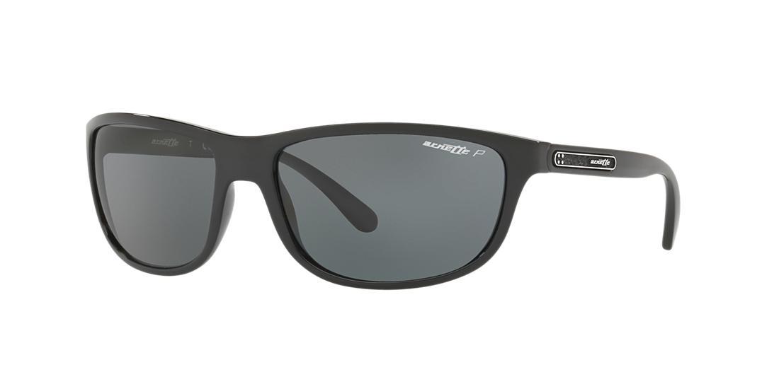 Image of Arnette An4246 Black Rectangle Sunglasses 888392356642