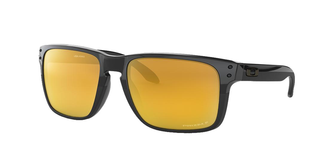 200427a656 Oakley OO9417 59 Gold   Black Polarized Sunglasses