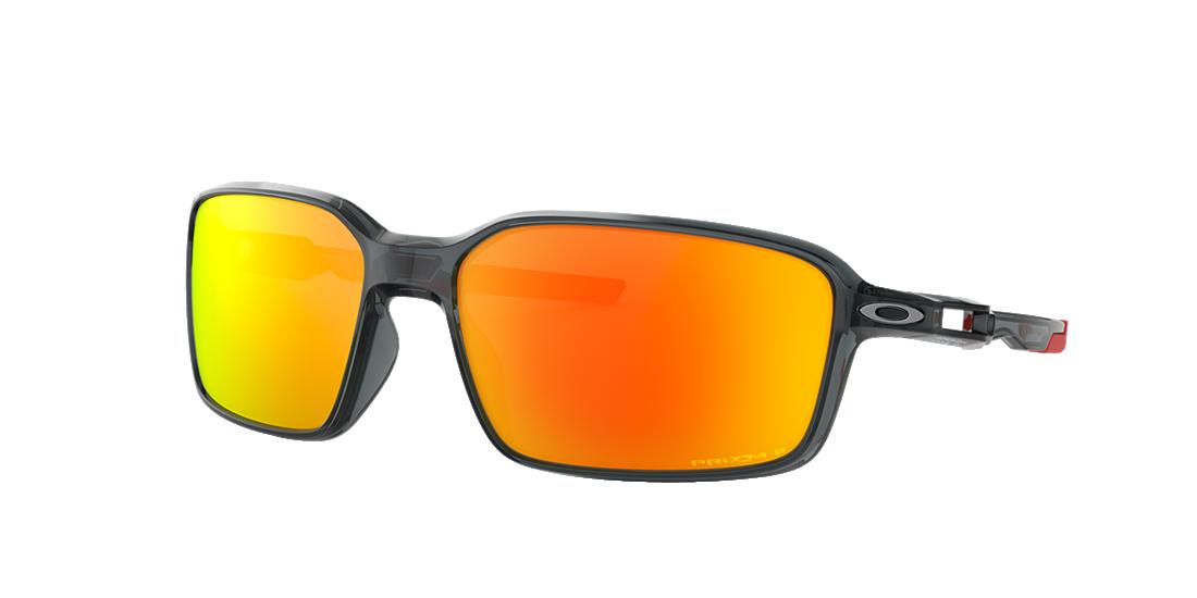 4a52a6c9d13b1 Oakley OO9429 64 Red   Black Polarized Sunglasses