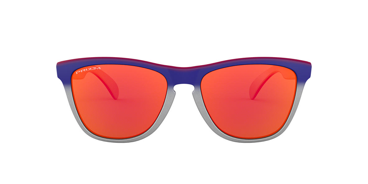 Silver OO9013 FROGSKINS Red  55