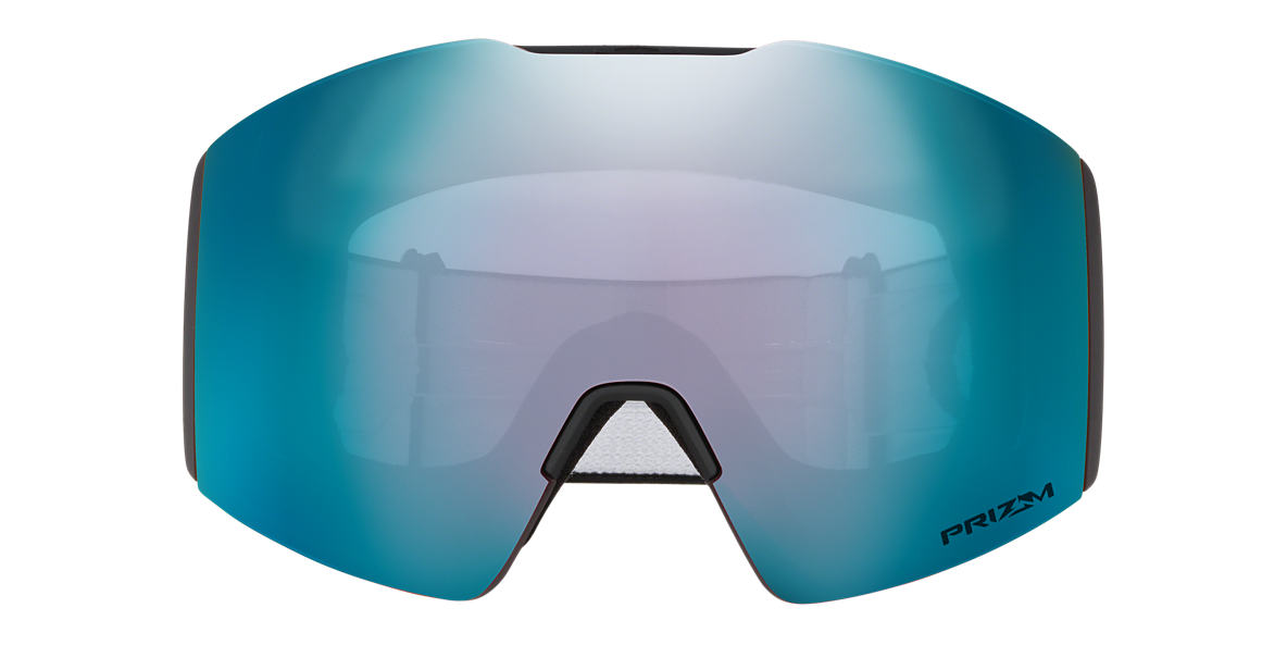 Matte Black OO7099 Fall Line XL Snow Goggle Blue