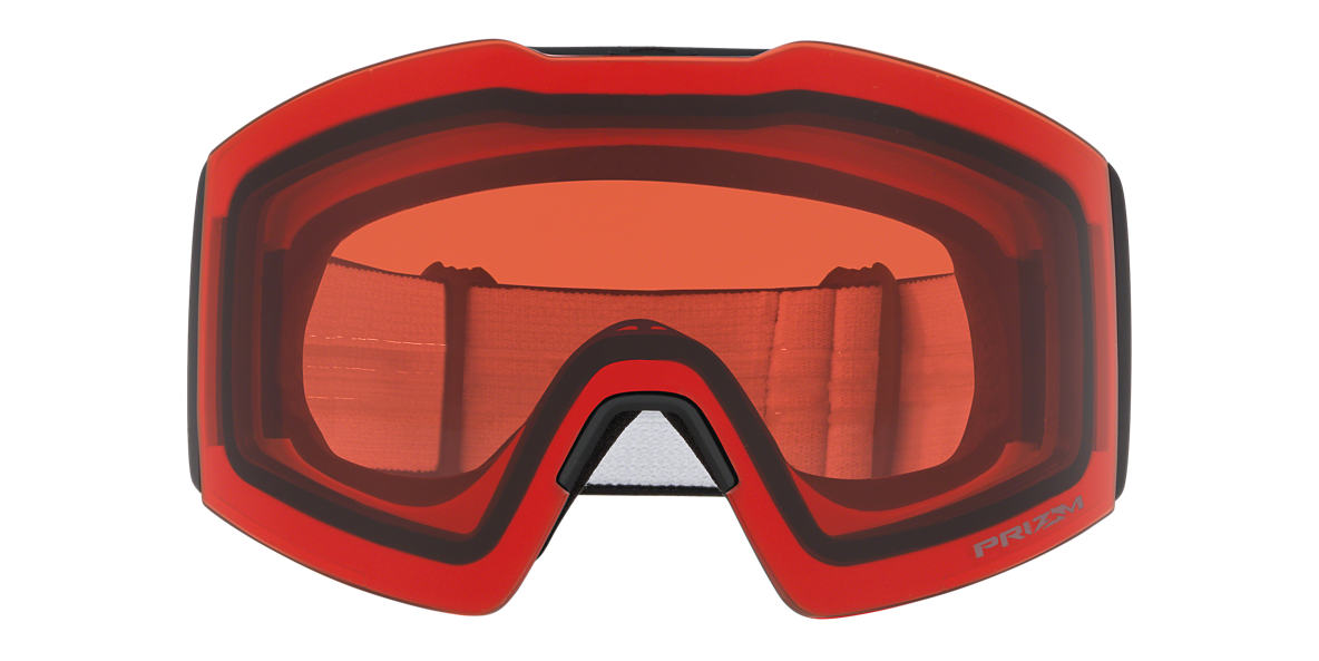 Negro mate OO7099 Fall Line XL Snow Goggle Rosa