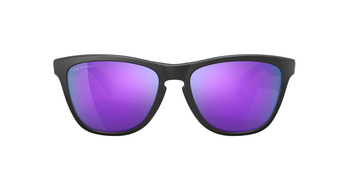 Matte Black OO9013 Frogskins™ Violet