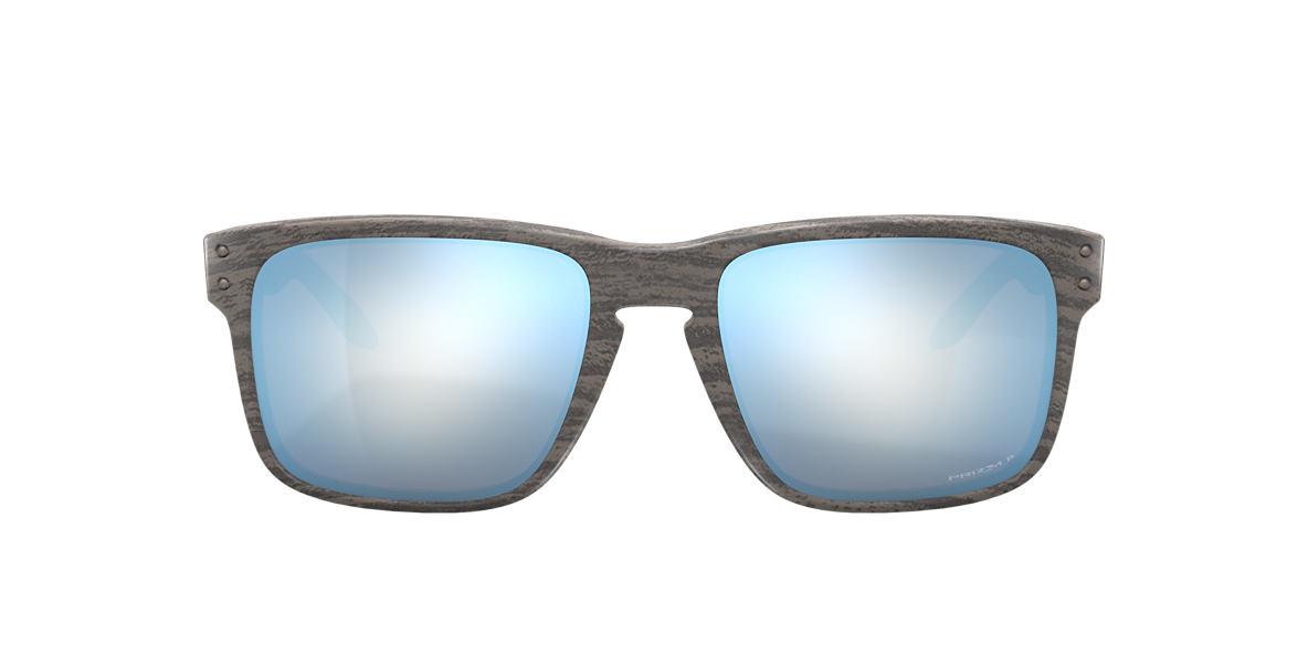 Green OO9102 Holbrook™ Woodgrain Collection Blue