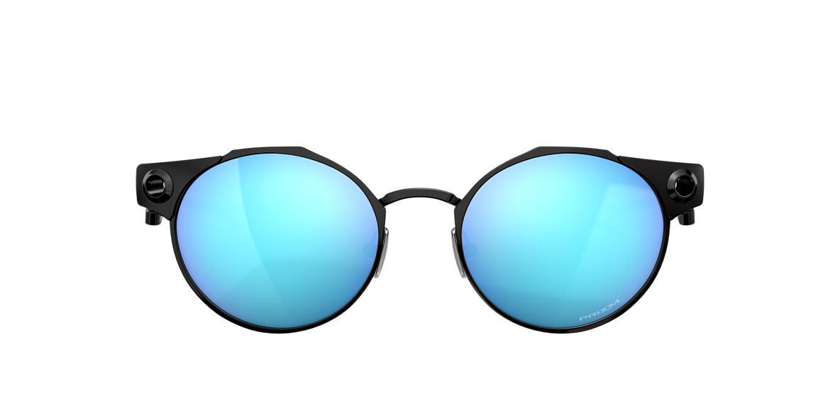 Grey OO6046 Deadbolt Blue Mirror