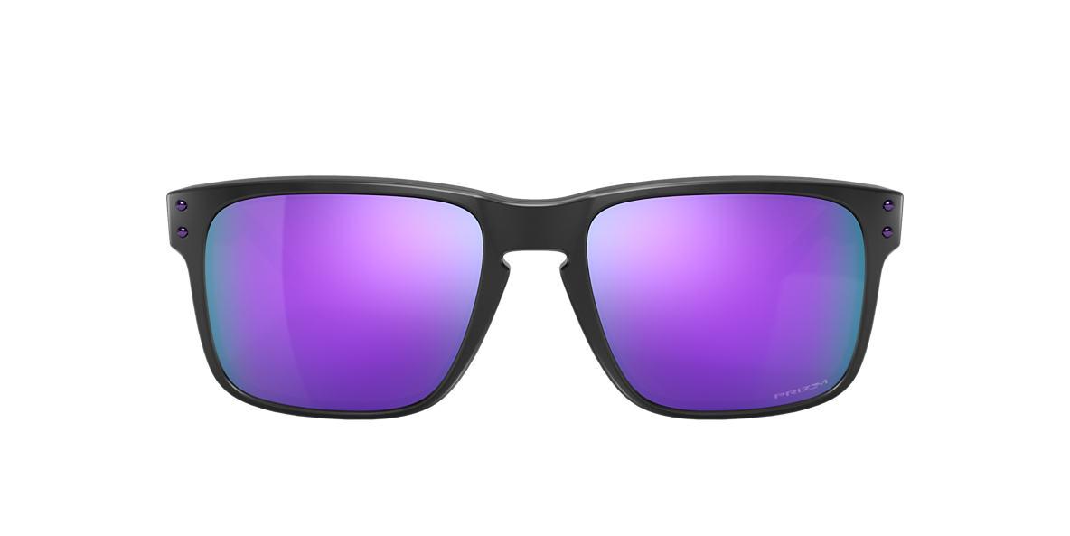 Matte Black OO9102 Holbrook™ Violet