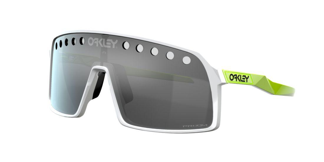 Oakley Sutro Origins Polished White/Reina Burn blanco