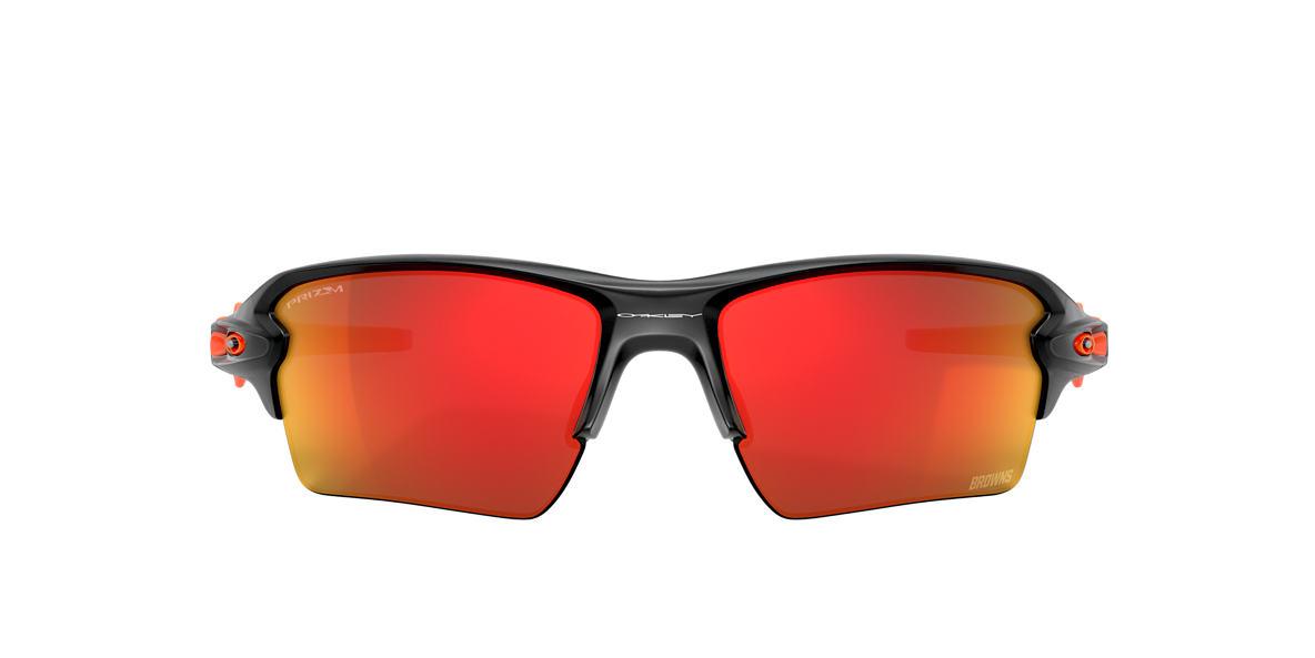 Matte Black Cleveland Browns Flak® 2.0 XL Red