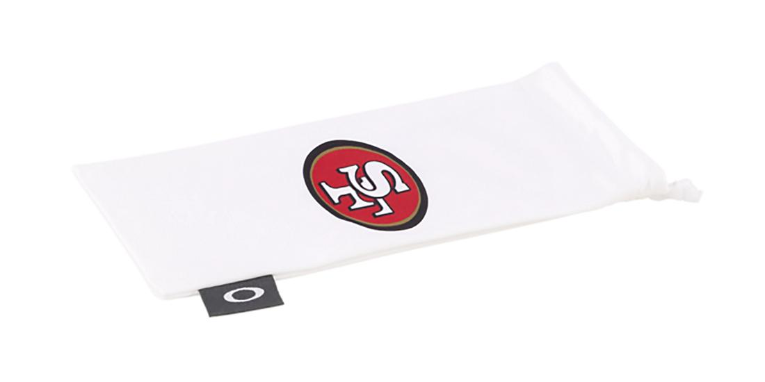 Oakley Nfl Sunglasses Pouch In San Francisco 49ers