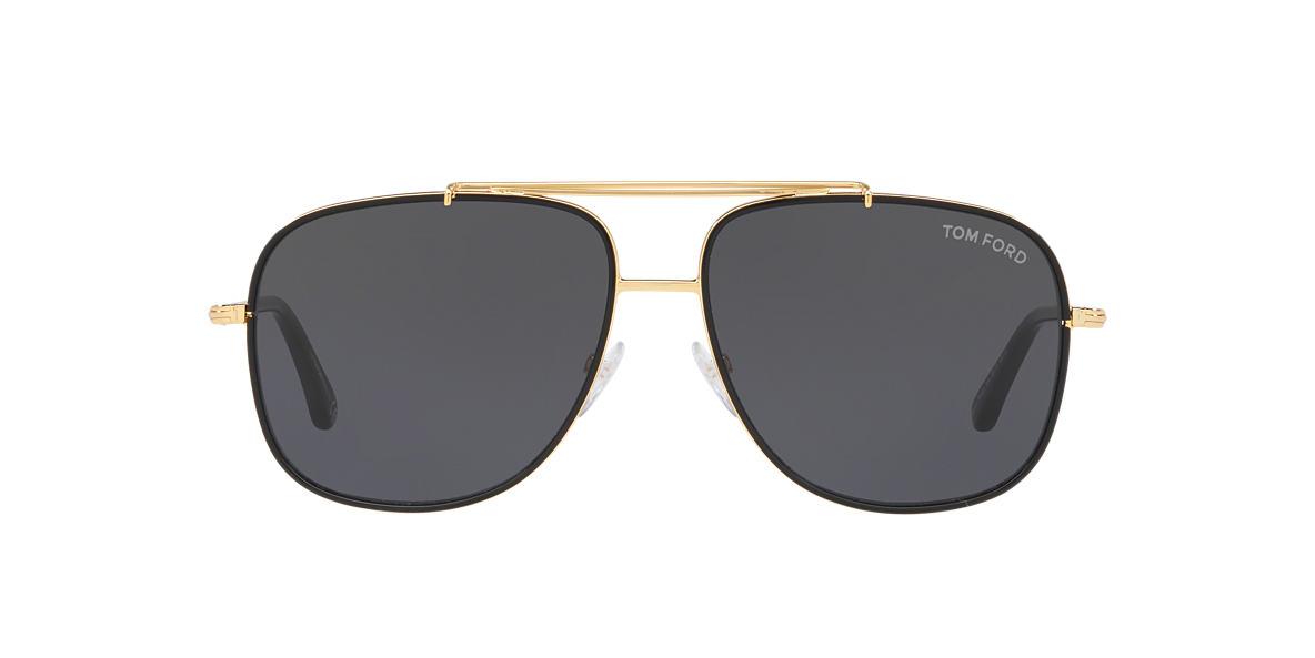 Gold Ft0693 Grey-Black  58