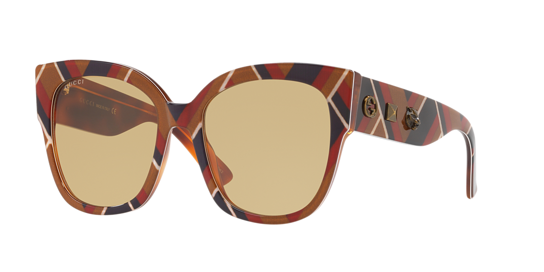 6cb8393ed712f Gucci GC000993 55 Brown   Multicolor Sunglasses